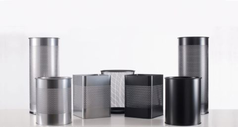 Zedo Metal Waste Paper Bins