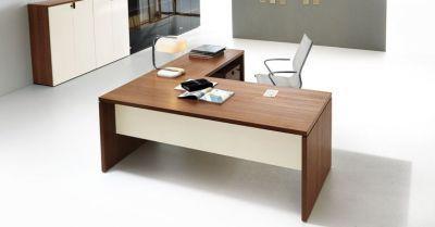 Lithos Executive Desk And Return Install Shot