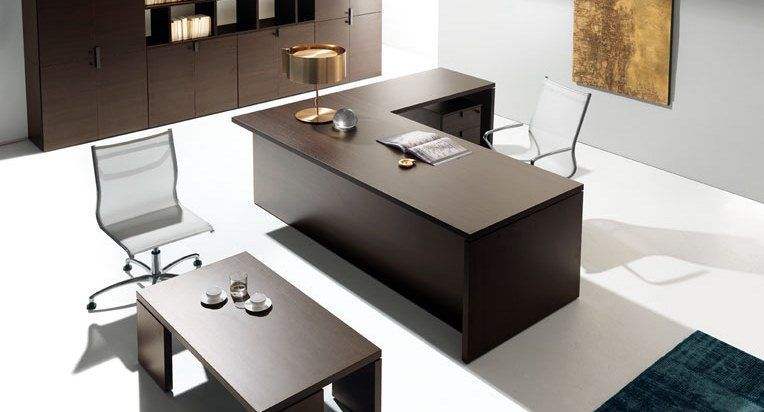Executive Desks From The Lithos Range Office Reality