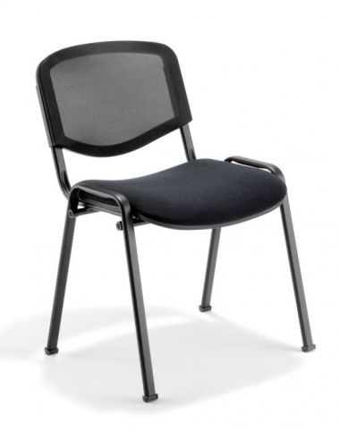 Iso Mesh Conference Chair With A Black Frame