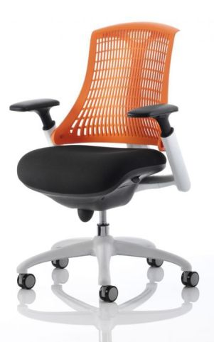 Reactive Ergo Chair Orange Back