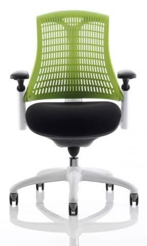 Reactive Ergo Char Lime Green Back