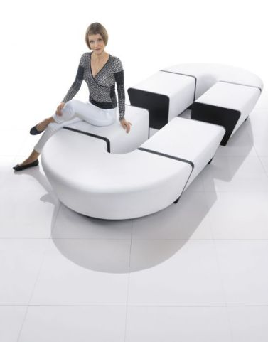 Magnitude Horshoe Bench Connection Sofa In Situ