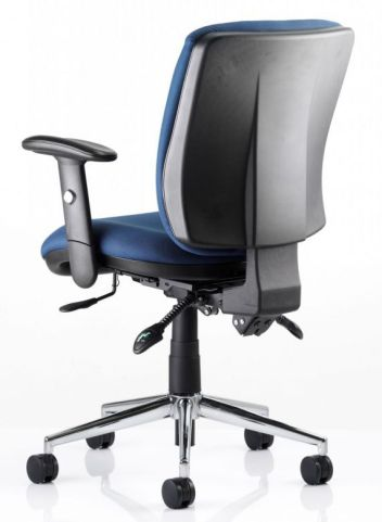 Chiro Medium Back Chair Rear View