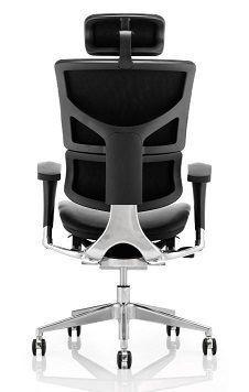 Dynamo Leather Task Chair Rear View