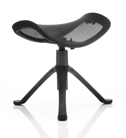 Dynamo Footstool With A Black Frame