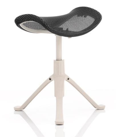 Dynamo Footstool With A Grey Frame Extended