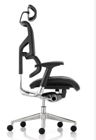 Dynamo Leather Task Chair Side Shot