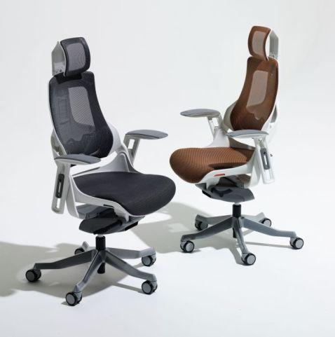 Taurus Mesh Task Chaitrs With Headrests
