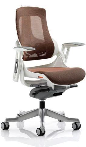 Taurus Mandarin Orange Task Chair Without Headrest
