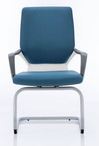 Atomic Fabric Visitors Chair Frontr