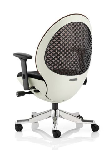 Podule Designer Chair With A White Frame