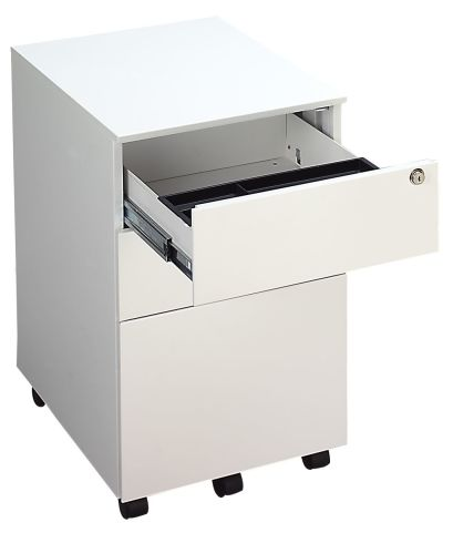 Striker Metal Pedestal Open Drawer