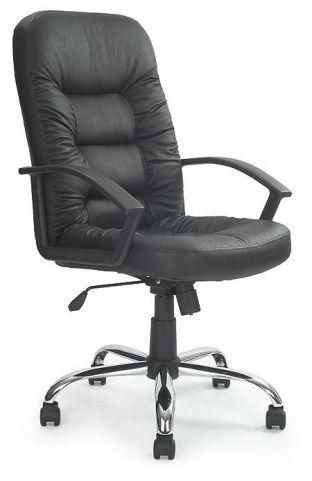 Cornwallis Black Leather Executive Chair