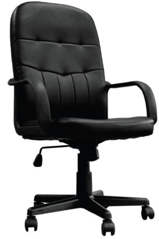 Kensington Black Leather Executive Chair
