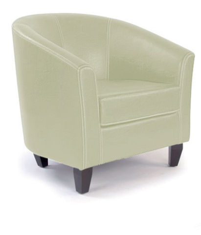 Metro Round Tub Chair Incory Faux Leather