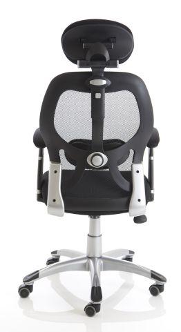 Ergo Star Mesh Task Chair Rear View
