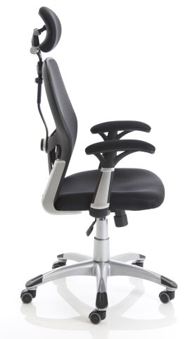 Ergo Star Mesh Task Chair Side View
