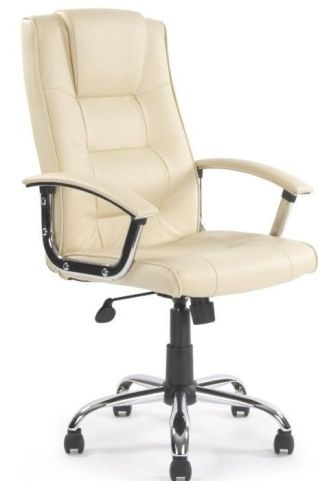 Somerton Chair Cream Leather