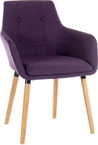 Sark Desiner Armchair Plum
