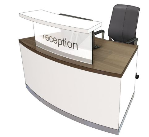 Evo Cl Compact Curved Reception Desk