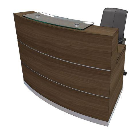 Evo Eclipse Compact Curved Reception Desk