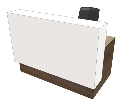 Evo Evoke Compact Straight Reception Desk