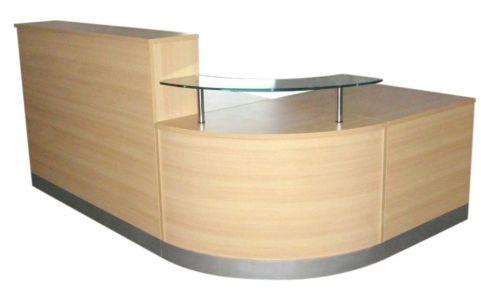 Value Tempo Reception Desk Front