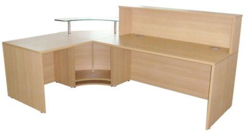 Value Tempo Reception Desk Rear