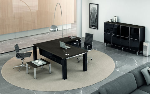 Stream Evo Executive Desk And Return Mood 1
