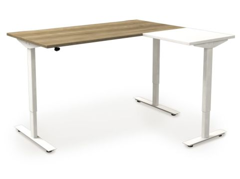 Avalon Sit Stand Desk And Return Desk