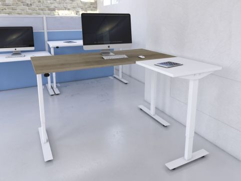Avalon Sit Stand Desk With Return Mood