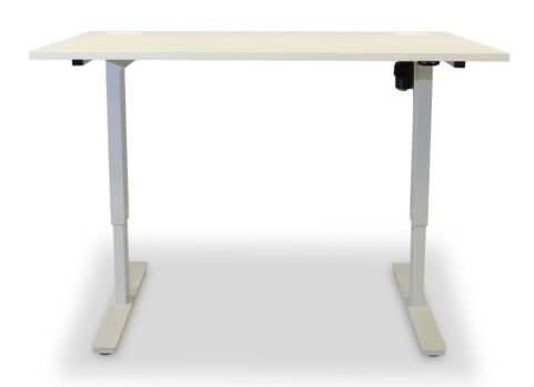 Aztec Sit Stand Desk With A White Top 2