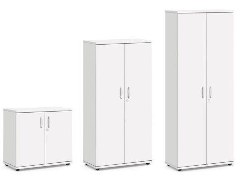 Vespa Wooden Cupboards In White