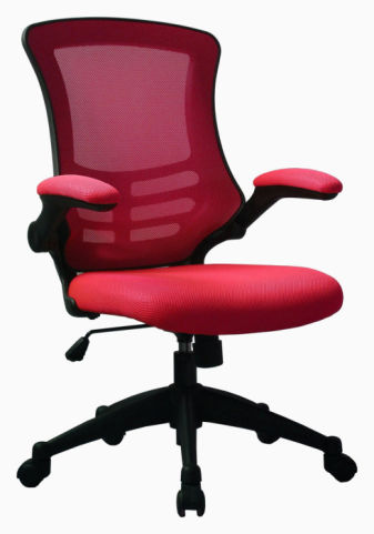 Corkky Red Mesh Task Chair