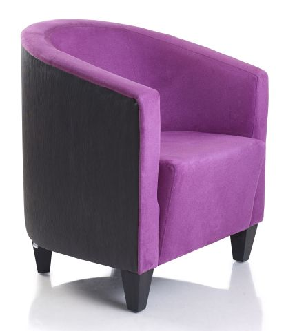 Beano Contract Tub Chair Side Angle