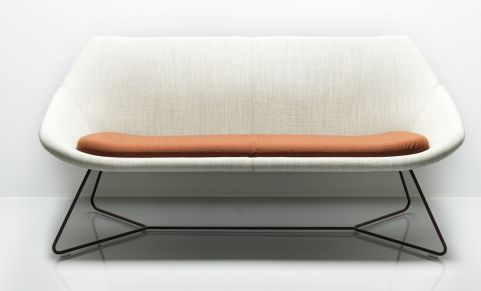Open Sofa Front View
