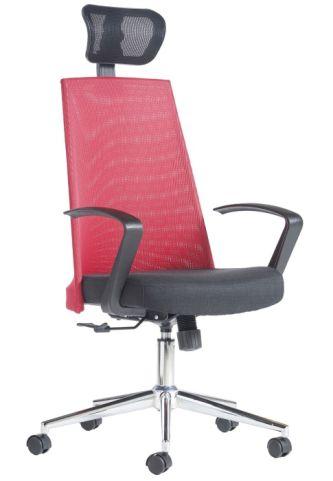 Revel Designer High Back Mesh Chair Front Angle