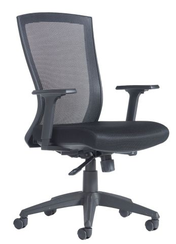 Curzon Mesh Back Hair Black Seat