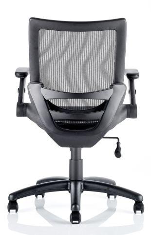 Hendrick Mesh Task Chair Rear View