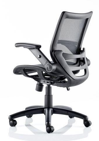 Hendrick Mesh Task Chair Side Angle