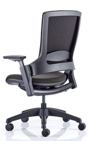 Lotus Chair Without Head Rest Rear Angle