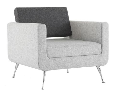 Single Seater Designer Sofa Pulse Office Reality