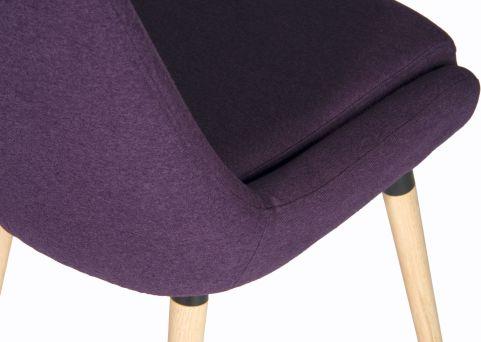 Sark Reception Chair Seat Detail