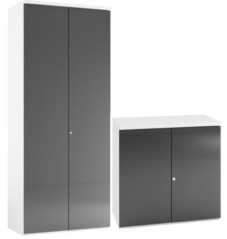 Anthracite Tall Storage Cupboard Anthracite