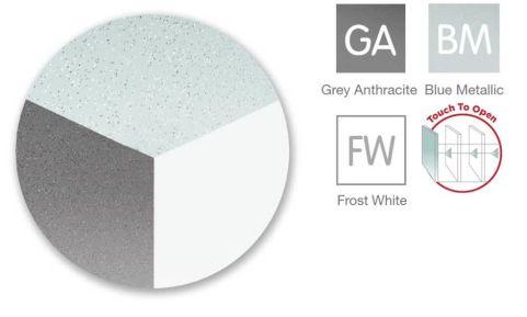 Anthracite White Storage Cupboard