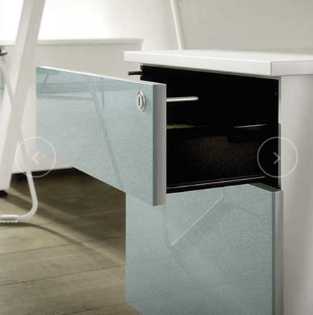 Handle Free Drawer Office Storage