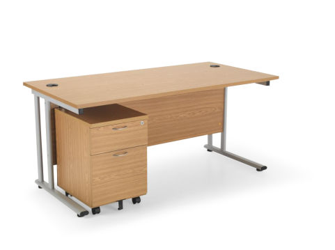 Flite Rectangular Desk Bundle Deal A