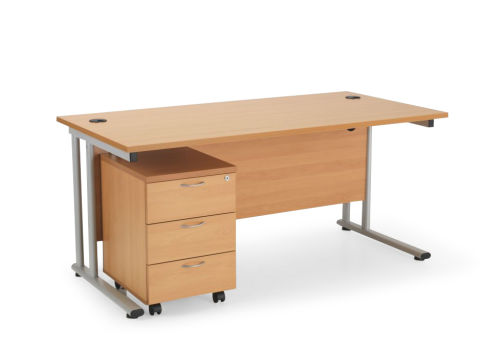 Flite Rectangular Desk Bundle Deal B Pg