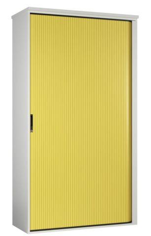 Scope Next Day Tall Tambour Cabinet Width A Yellow Shutter